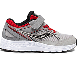 Cohesion 14 A/C Sneaker, Grey | Red, dynamic