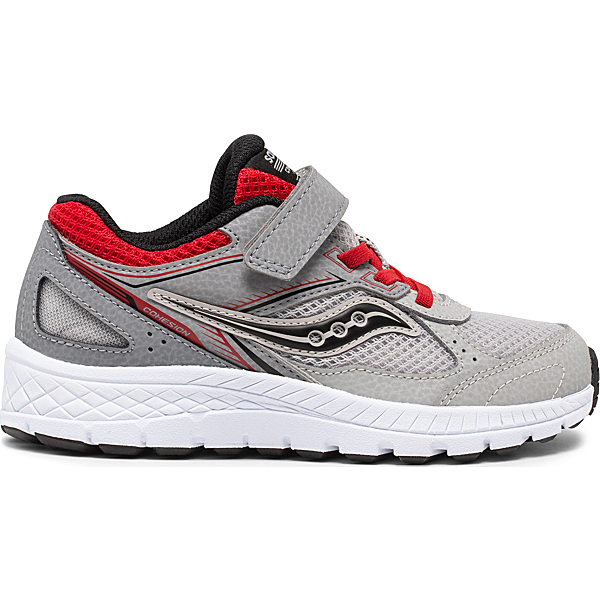 Cohesion 14 A/C Sneaker, Grey   Red, dynamic