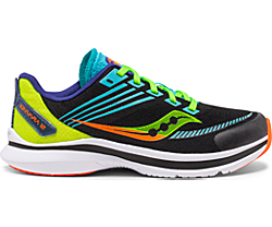 Kinvara 12 Sneaker, Black | Green, dynamic