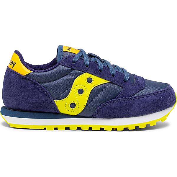 Jazz Original Sneaker, Navy   Green   Yellow, dynamic