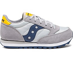Jazz Original Sneaker, Grey | Blue | Yellow, dynamic