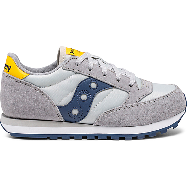 Jazz Original Sneaker, Grey | Blue | Yellow, dynamic
