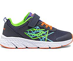 Wind A/C Sneaker, Navy | Green, dynamic