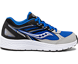 Cohesion 14 Lace Sneaker, Black | Blue, dynamic