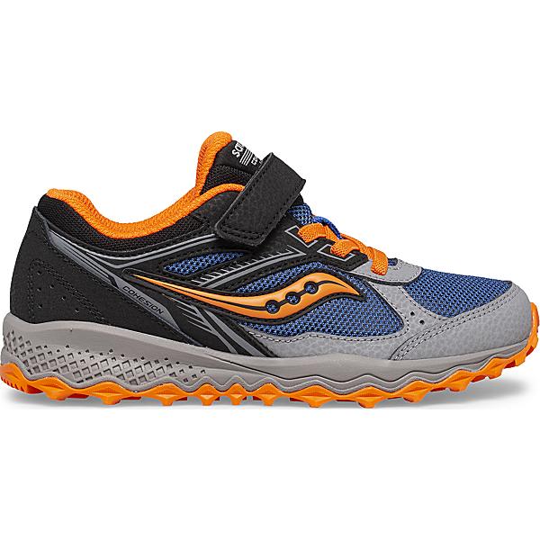 Cohesion 14 A/C Sneaker, Black   Blue   Orange, dynamic