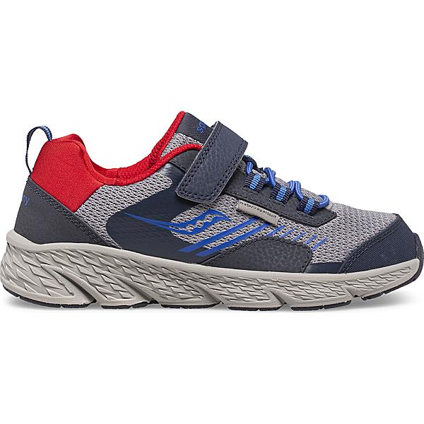 Wind Shield A/C Sneaker, Navy | Grey | Red, dynamic