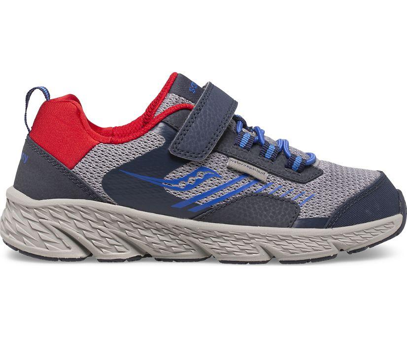 Wind Shield A/C Sneaker, Navy   Grey   Red, dynamic