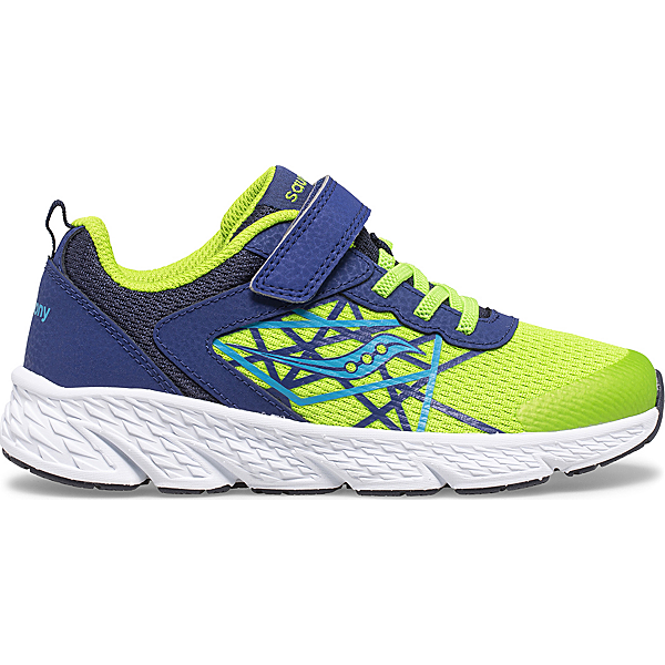 Wind A/C Sneaker, Navy   Green, dynamic