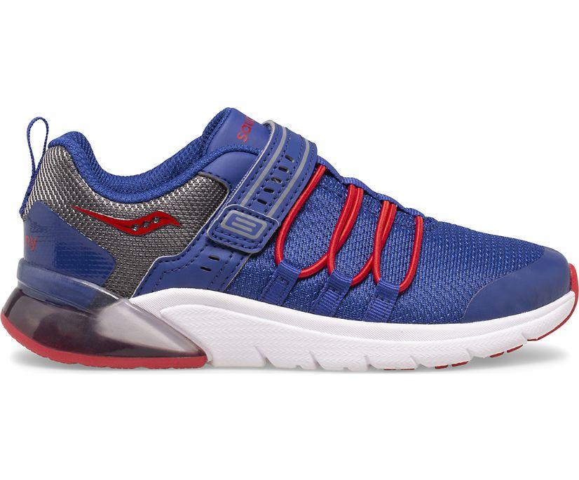 Flash Glow 2.0 Sneaker, Navy | Red | Grey, dynamic