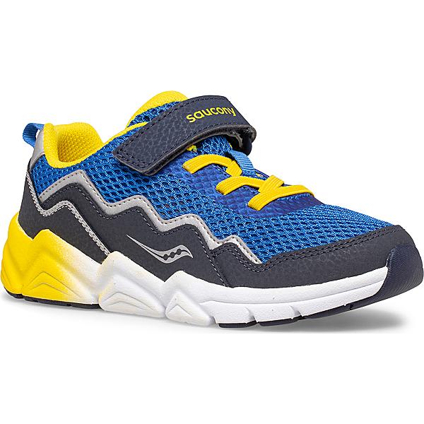 Flash A/C 2.0 Sneaker, Blue | Yellow, dynamic