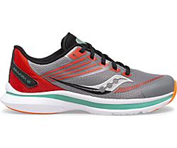 Kinvara 12 Sneaker, Grey | Orange, dynamic