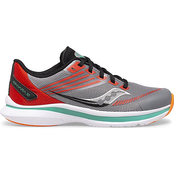 Kinvara 12 Sneaker, Grey   Orange, dynamic