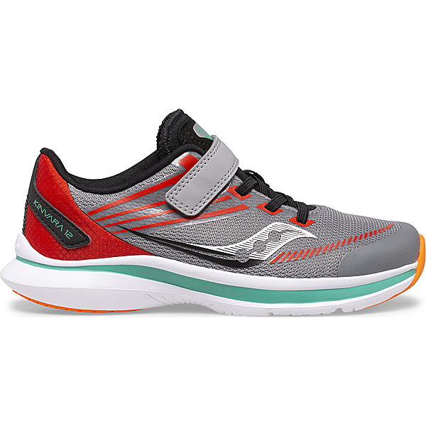 Kinvara 12 A/C Sneaker, Grey   Orange, dynamic