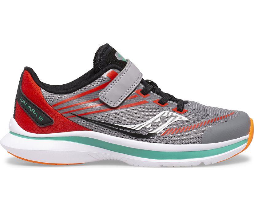 Kinvara 12 A/C Sneaker, Grey | Orange, dynamic