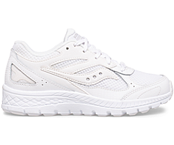 Cohesion 14 Lace Sneaker, White, dynamic