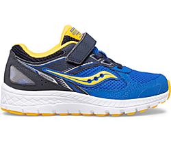 Cohesion 14 A/C Sneaker, Blue | Yellow, dynamic