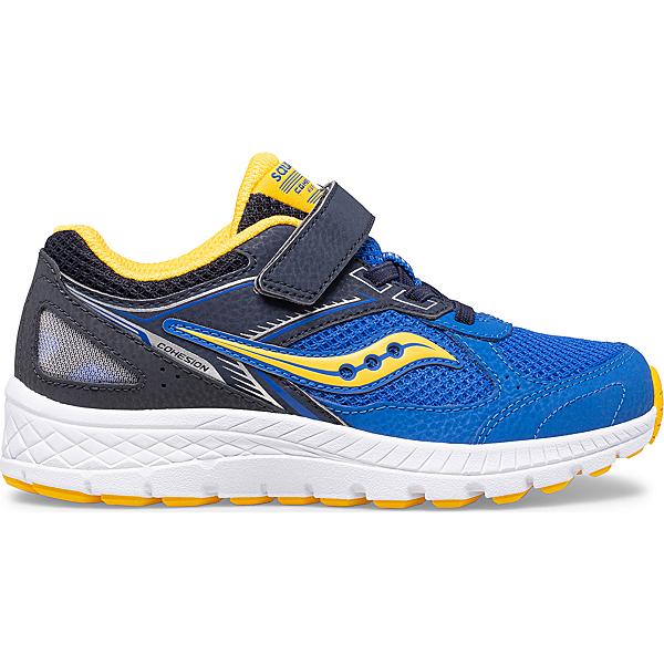 Cohesion 14 A/C Sneaker, Blue   Yellow, dynamic