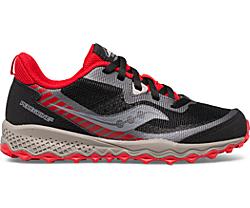 Peregrine 11 Shield Sneaker, Black | Red, dynamic