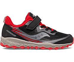 Peregrine 11 Shield A/C Sneaker, Black | Red, dynamic