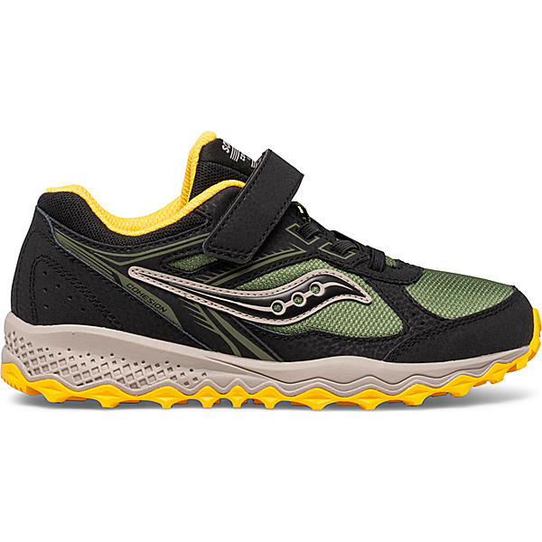Cohesion 14 A/C Sneaker, Black | Olive | Yellow, dynamic