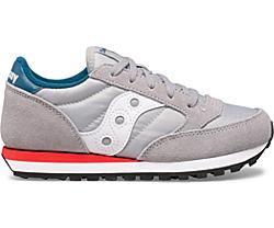 Jazz Original Sneaker, Grey | Blue | Red, dynamic