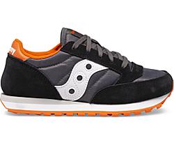 Jazz Original Sneaker, Black | Grey | Orange, dynamic