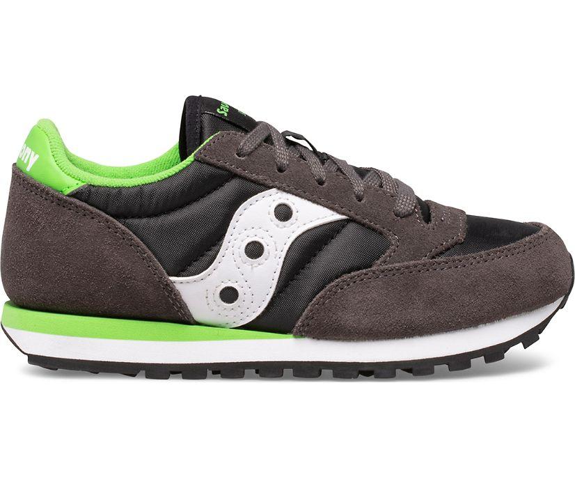 Jazz Original Sneaker, Grey | Black | Green, dynamic