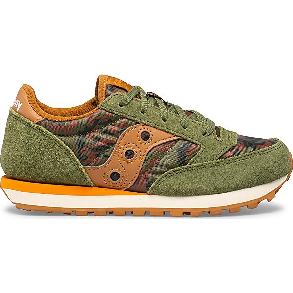 Jazz Original Sneaker, Olive | Orange, dynamic