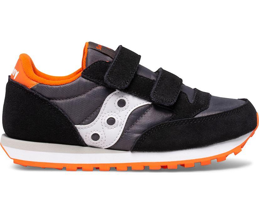 Jazz Double Hook & Loop, Black | Grey | Orange, dynamic