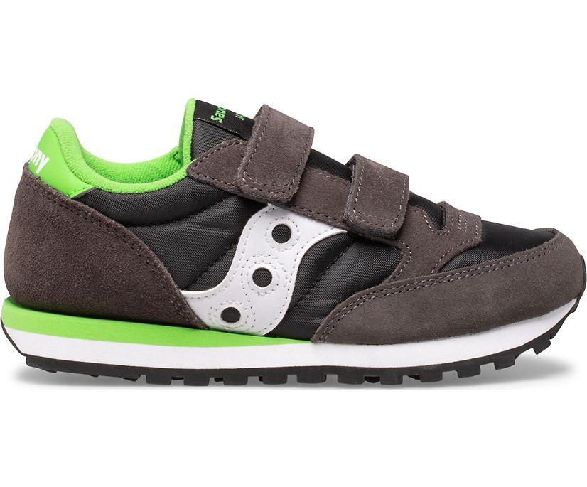 Jazz Double Hook & Loop, Grey | Black | Green, dynamic