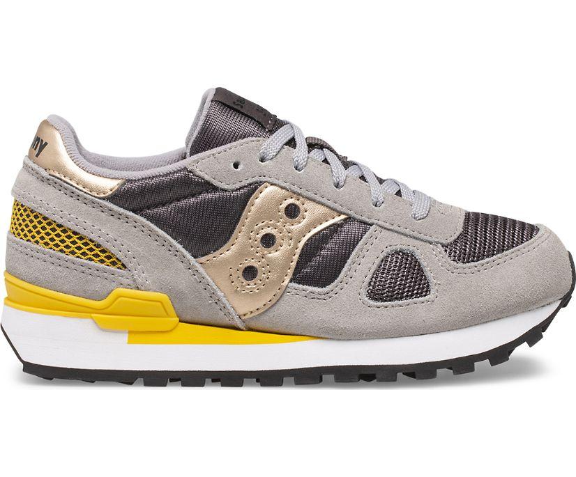 Shadow Original Sneaker, Grey | Yellow, dynamic
