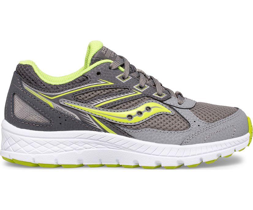 Cohesion 14 Lace Sneaker, Grey | Citron, dynamic