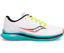 Kinvara 12 Sneaker, White | Black | Citron, dynamic