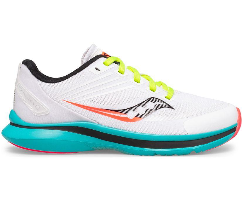 Kinvara 12 Sneaker, White | Black | Citron, dynamic