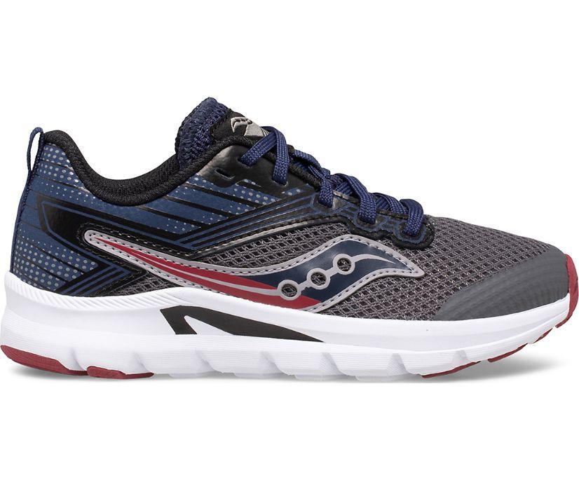 Axon Sneaker, Grey | Navy | Maroon, dynamic