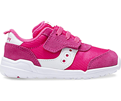 Jazz Riff Sneaker, Pink | White, dynamic