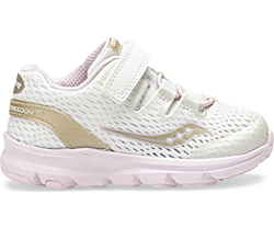 Baby Freedom ISO Sneaker, Off White | Cream | Gold, dynamic