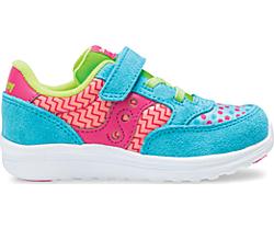 Baby Jazz Lite Sneaker, Turq/Multi Print, dynamic