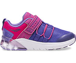 Flash Glow 2.0 Jr. Sneaker, Purple | Pink, dynamic