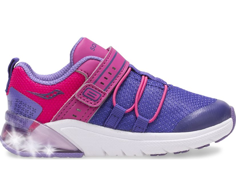 Flash Glow 2.0 Jr. Sneaker, Purple | Pink, dynamic