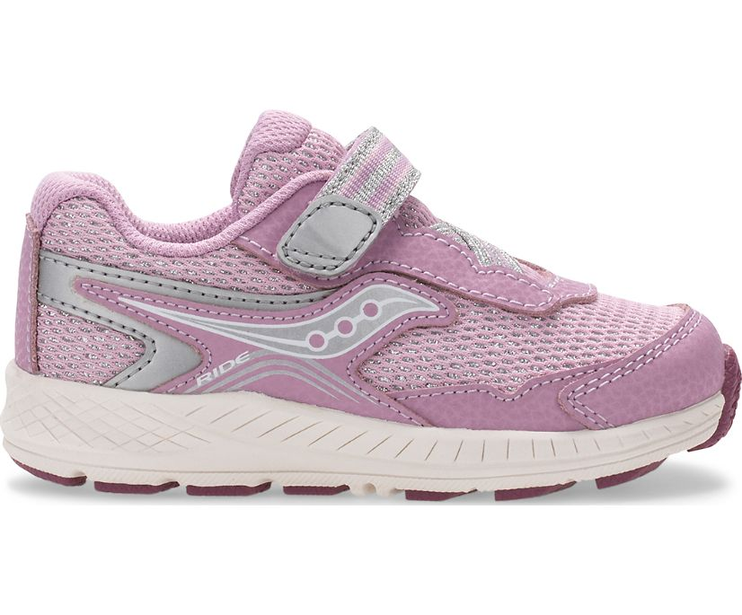 Ride 10 Jr. Sneaker, Pink Metallic, dynamic