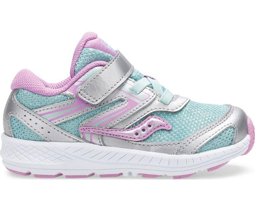 Cohesion 13 Jr. Sneaker, Silver | Turq, dynamic