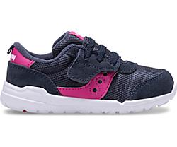 Jazz Riff Sneaker, Navy | Magenta, dynamic