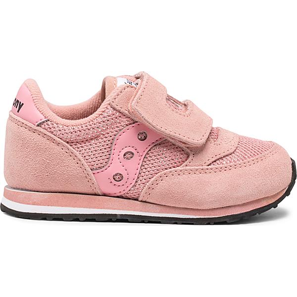 Baby Jazz Hook & Loop Sneaker, Pink Metallic, dynamic