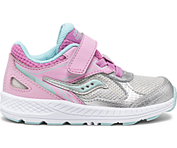 Cohesion 14 A/C Jr. Sneaker, Pink | Silver, dynamic