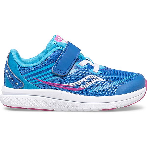 Kinvara 12 Jr. Sneaker, Blue | Pink, dynamic