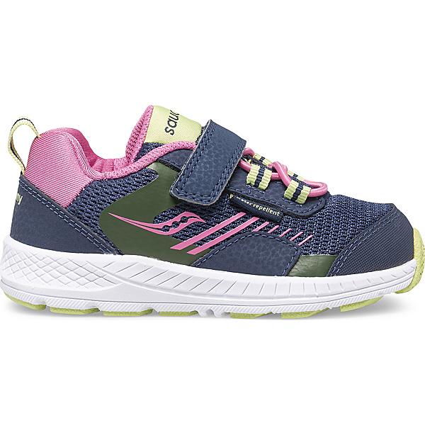 Wind Shield A/C Jr. Sneaker, Navy | Green | Pink, dynamic