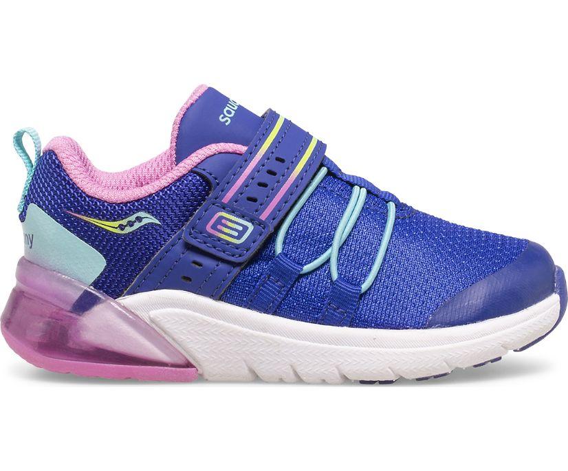 Flash Glow 2.0 Jr. Sneaker, Navy   Pink Multi, dynamic
