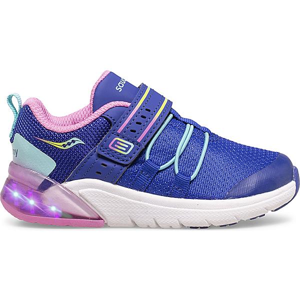Flash Glow 2.0 Jr. Sneaker, Navy | Pink Multi, dynamic