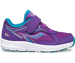 Cohesion 14 A/C Jr. Sneaker, Purple | Turq, dynamic